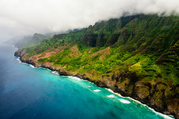 The Cathedrals of the Na Pali Coast on Kaua'i