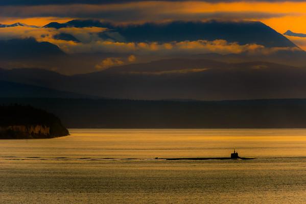 Sunset Submarine