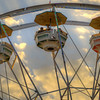 Ferris Wheel and Clouds
