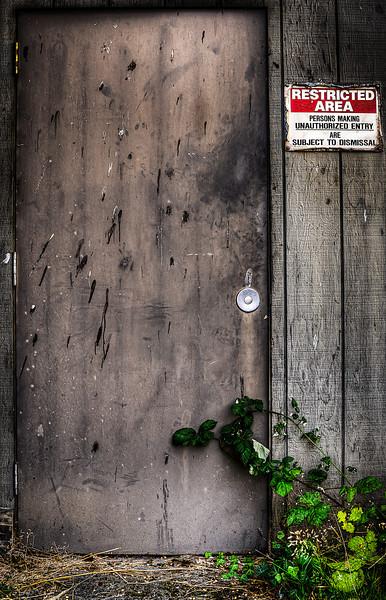 Restricted Door at K2