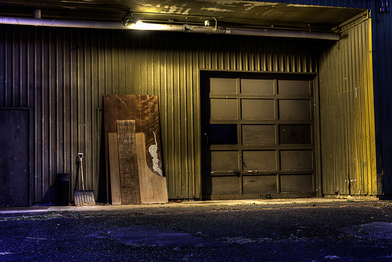 The Front Entrance to the Warehouse