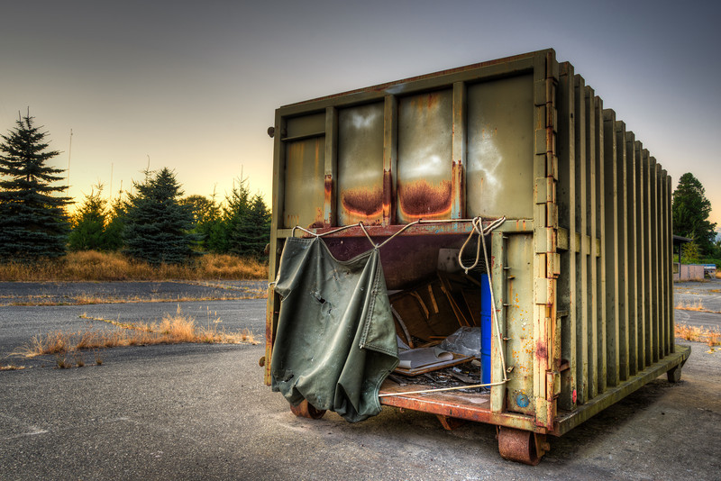 The Disused Trash Bin at K2