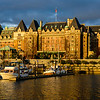 The Empress Hotel at Sunset