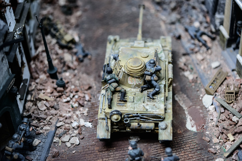 Tiger Tank in Miniature