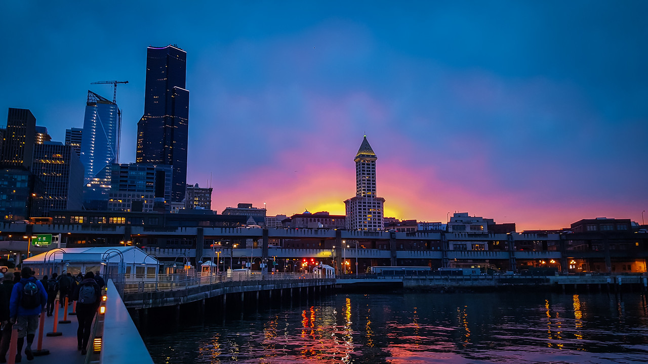 Sunrise at Pier 50