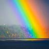 Rainbow Touching Down