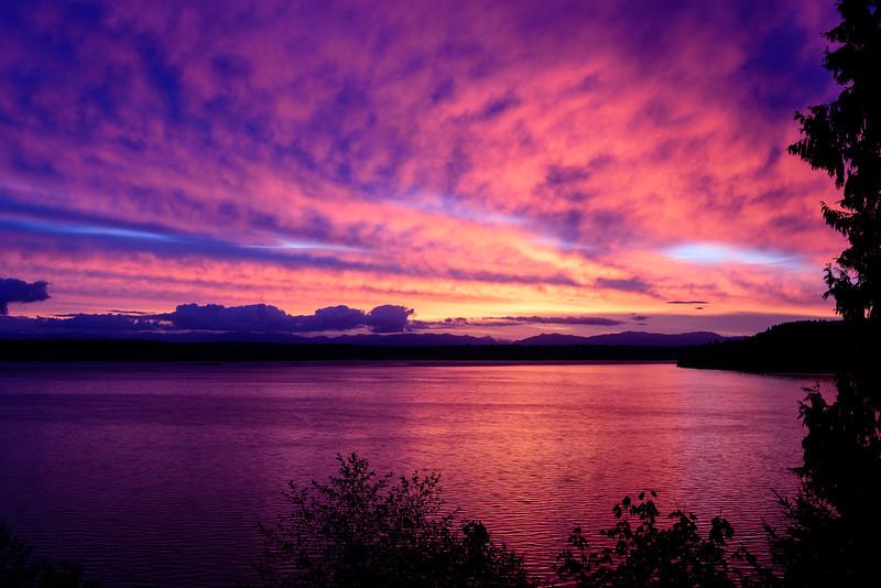 Vibrant Tramp Harbor Sunrise