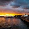 Pier 50 Sunset