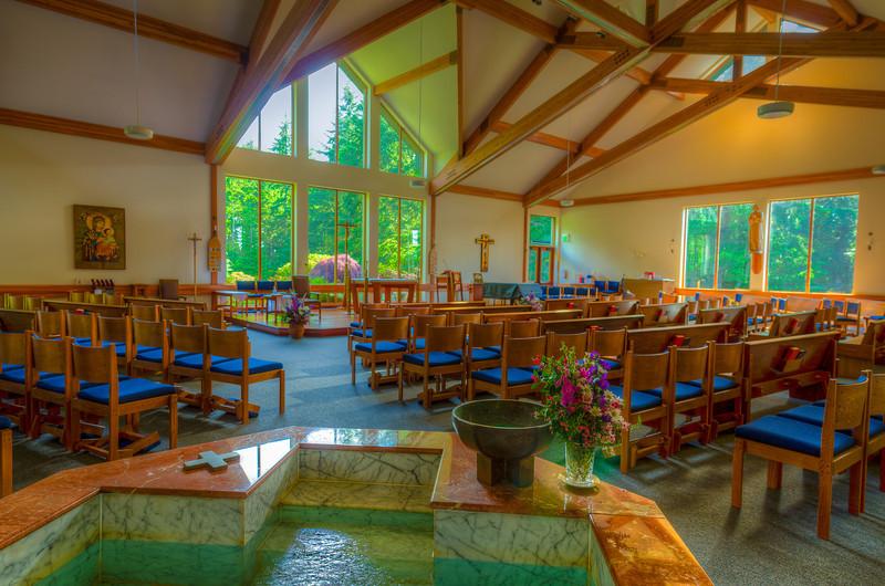 St. John Vianney Catholic Church on Vashon Island, WA