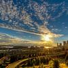 Seattle Skyline Pre-Sunset