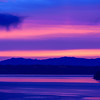 Blue and Purple Tramp Harbor Sunrise