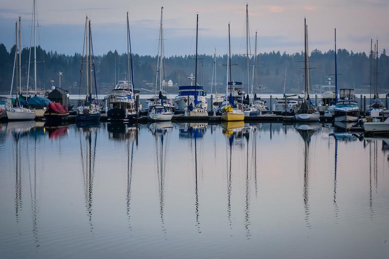 Outer Quartermaster Harbor - Vashon Island, WA