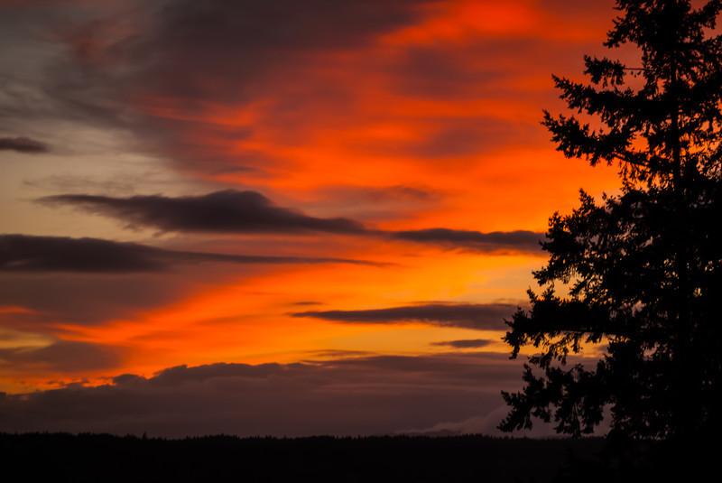 Vashon Island Sunset
