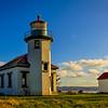 Pt. Robinson Lighthouse at Sunset