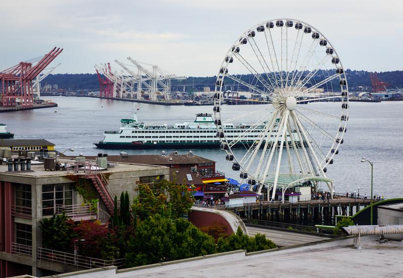 Elliott Bay at Downtown Seattle