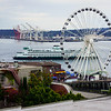 Elliott Bay at Downtown Seattle