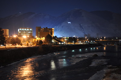 Missoula at Night