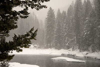 Snow on the Middle Fork