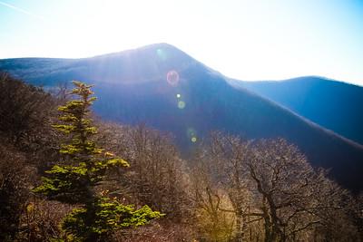Sun Flare; Blue Ridge-Skyline Driver 2015