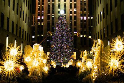 Rockefeller Christmas Tree; 2012