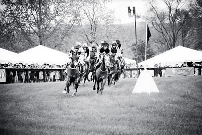 Around the first turn; VA Gold Cup 2016