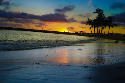 Sunset; Hawaii 2012