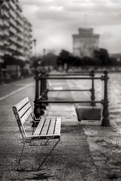 The bench - Thessaloniki