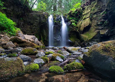Majestic Falls - Lebanon, Oregon 2018