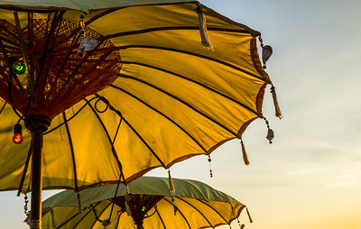 Sunset Umbrellas