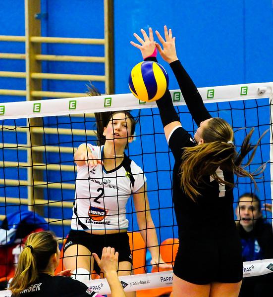 Austrian Volley Cup 2017/18 - Halbfinale - SG Prinz Brunnenbau Volleys vs. SG VB NÖ Sokol/Post