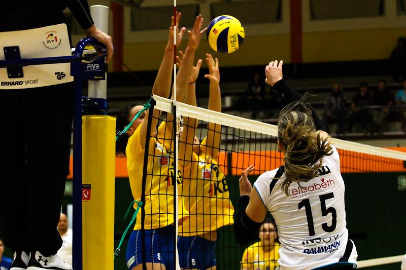 Austrian Volley League 2017/18 - SG Prinz Brunnenbau Volleys vs. VC Tirol