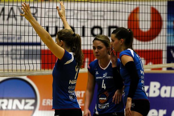 2018-19 Austrian Volley League Women - SG Prinz Brunnenbau Volleys vs. PSV Volleyballgemeinschaft Salzburg