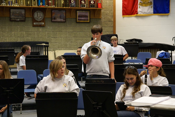 Westfield Pep Band Sept 21, 2012