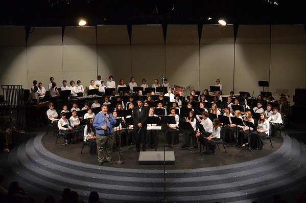 Robinson MS Bands 2014 Spring Concert