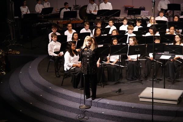 Middle School and High School Winter Concert Dec 5.2013