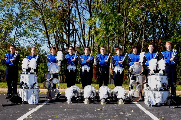 Marching Ram Sectional Portraits 2013