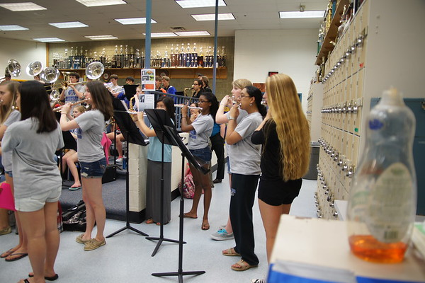 First read of 2014 Marching Band Music