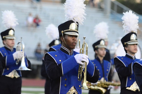 Robinson versus W.T.Woodson Marching Rams pgm