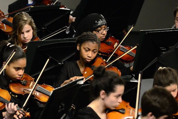 Robinson HS Orchestras Pre-Assessment concerts