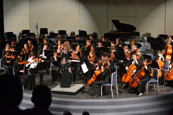 High School Orchestra Concert 3-21-2014