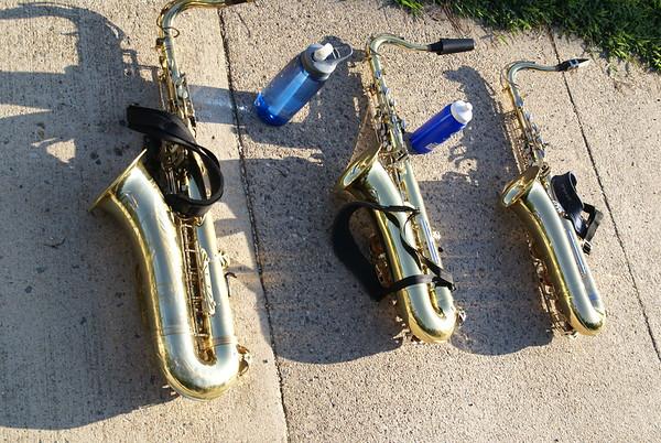 Saxophones - Band Camp 2014