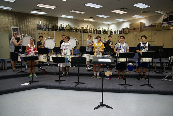 Drum Line Band Camp 2014