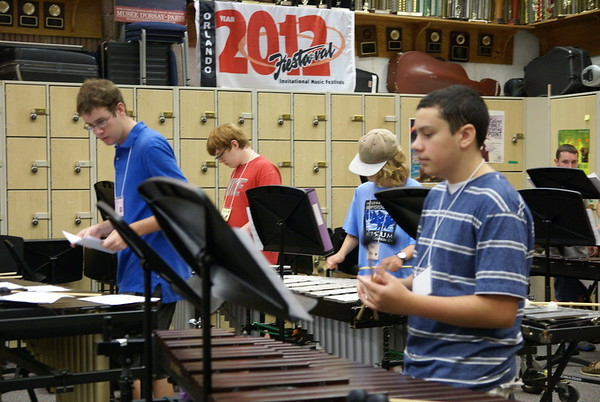Front Ensemble Band Camp 2014