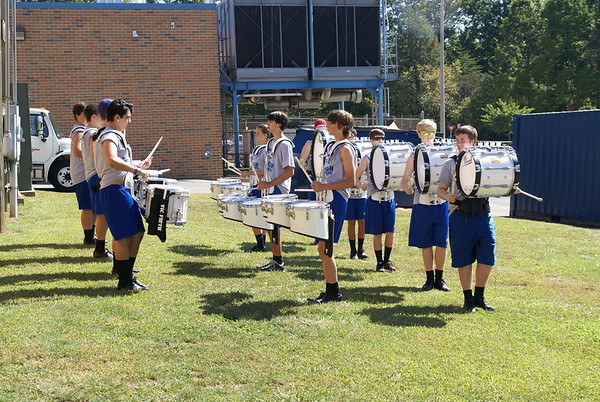 Oakton Marching Competition Sept 27, 2014
