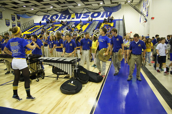 Homecoming Pep Rally Oct 10, 2014