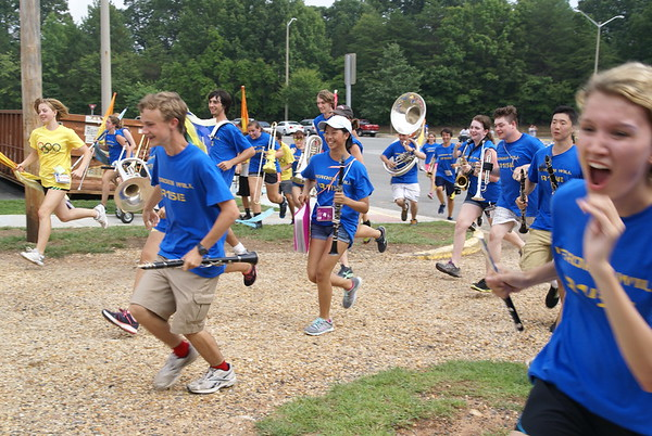 Senior Day and End of Camp Dance Aug 22, 2014