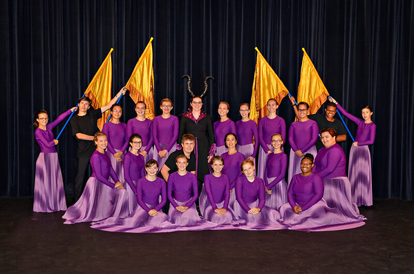 2015-2016 Color Guard