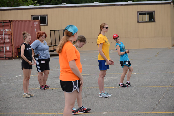 Color Guard Band Camp 2015