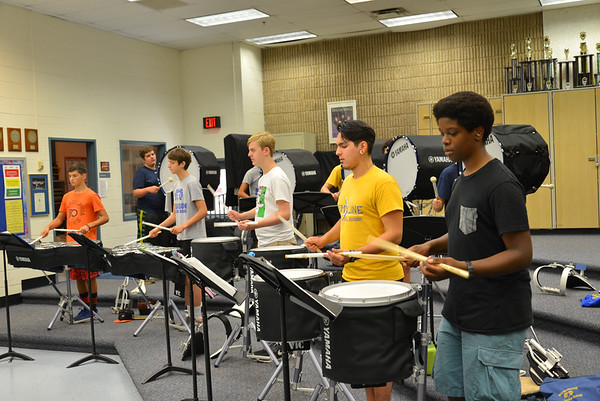 Percussion Band Camp 2015
