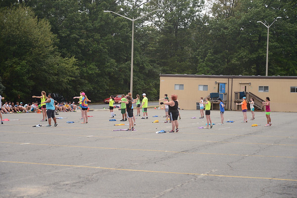 Color Guard Band Camp 2015